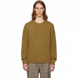 Tibi SSENSE Exclusive Tan Alpaca Airy Pullover Sweater 192095M20100603GB