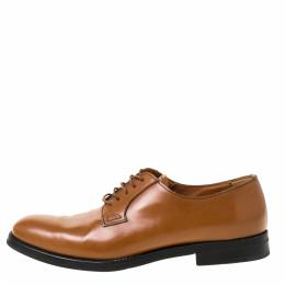 Church's Brown Leather Derby Size 37.5 222193