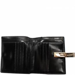 Gucci Black Leather Wallet 220060