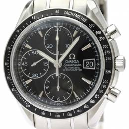 Omega Black Stainless Steel Speedmaster Date/Day-Date Chronograph 3210.50 Men's Wristwatch 40MM 220927
