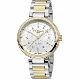 Rochas Silver Gold-Plated Stainless Steel RP2L017M0051 Women's Wristwatch 36MM 221315