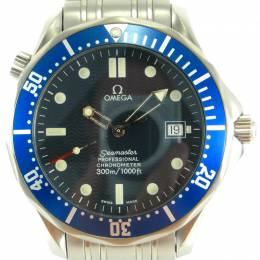 Omega Blue Stainless Steel Seamaster Professional Chronometer 2531.80 Men's Wristwatch 41MM 221402