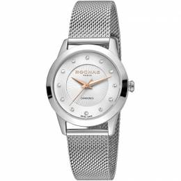 Rochas Silver Stainless Steel RP2L020M0011 Women's Wristwatch 34MM 221325
