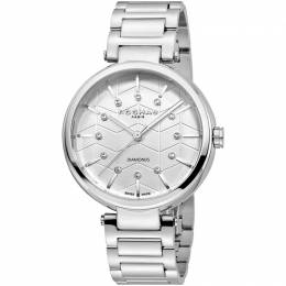 Rochas Silver Stainless Steel RP2L017M0011 Women's Wristwatch 36MM 221321
