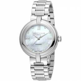 Rochas Silver MOP Stainless Steel RP2L018M0011 Women's Wristwatch 34MM 221330