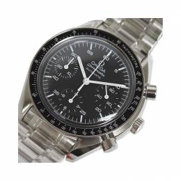 Omega Black Stainless Steel Speedmaster 3510.50 Men's Wristwatch 38MM 220962