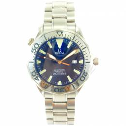 Omega Blue Stainless Steel Seamaster Professional 2265.80 Men's Wristwatch 41MM 221395