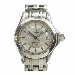 Omega Silver Stainless Steel Seamaster 2581.31 Women's Wristwatch 26MM 221008