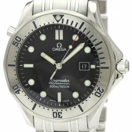 Omega Black Stainless Steel Seamaster Professional Limited Edition 2261.50 Men's Wristwatch 41MM 220976