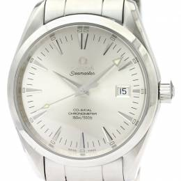Omega Silver Stainless Steel Seamaster Aqua Terra Chronometer 2503.30 Men's Wristwatch 39.2MM 220986