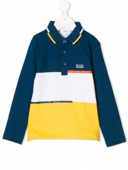 Boss Kids - colour block polo shirt C3585993003365000000