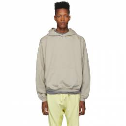 Haider Ackermann Grey Perth Hoodie 192542M20200304GB