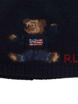 Intarsia Wool Blend Knit Hat Ralph Lauren 70IXEU001-MDAx0
