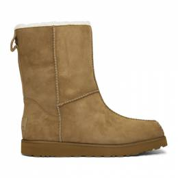 Eckhaus Latta Brown and Off-White UGG Edition Block Boots 192830M22300205GB