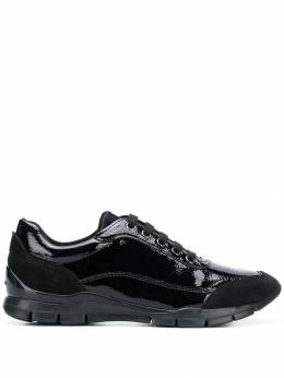 Geox - varnished lace-up sneakers F0B6DE00C99999393993