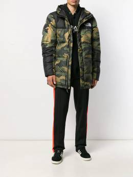 The North Face - hooded padded jacket MJLF3095586355000000