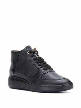 Geox - wedge lace-up sneakers APB66656939336960000