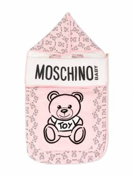 Moschino Kids - конверт с принтом Teddy Bear 66ALAB93950055880000