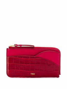 Chloé - contrast panel wallet 99WP360B669556509600