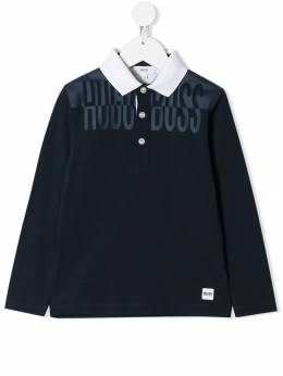 Boss Kids - logo polo shirt C3985993665985000000