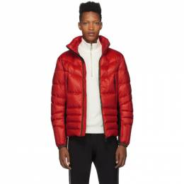 Moncler Grenoble Red Canmore Puffer Jacket 192826M17801104GB