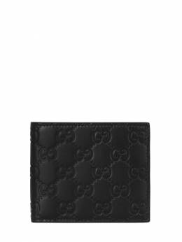 Gg Embossed Leather Wallet Gucci 70IXQC005-MTAwMA2