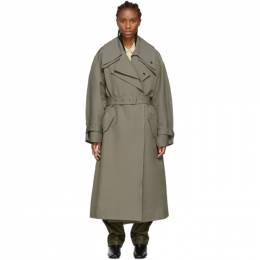 Low Classic Khaki Belted Trench Coat 192666F06700401GB