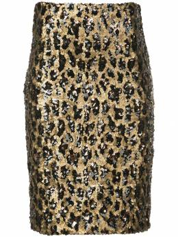 Alice+Olivia - Ramos sequin fitted skirt 69E33369955963830000
