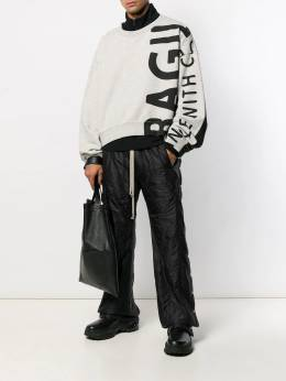 Rick Owens DRKSHDW - Easy Pusher quilted-effect trousers 9F6339NZ955563590000