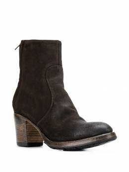 Silvano Sassetti - vintage effect ankle boots 69X303VEDNTDM9559309