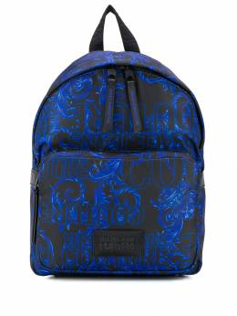 Versace Jeans - Barocco print small backpack UBBA5390959559658900