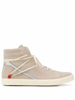 Rick Owens - Geotrasher high-top sneakers 9F5865LVS99555635600