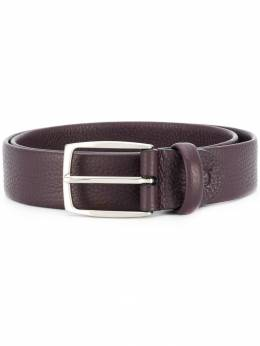 Canali - textured leather belt A6695995593336000000