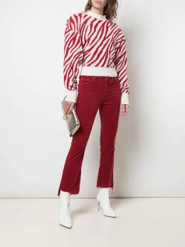 Mother - Insider croppd corduroy trousers 36989555533600000000