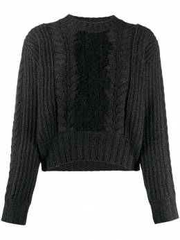 See By Chloé - paneled jumper 99WMP935069559336800