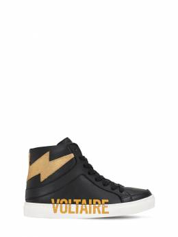 Leather Sneakers Zadig & Voltaire 70IOFR056-MDlC0