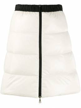 Moncler - full zip quilted skirt 6566C666595506580000