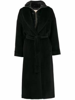 Herno - layered belted coat 396D3306395595363000