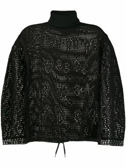 See By Chloé - cage mesh knit jumper 99WJH036909559639600
