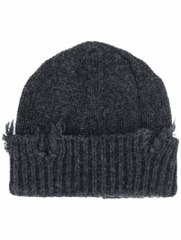 Maison Margiela - distressed knit beanie TC6690S9695995596696