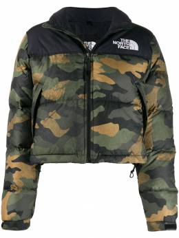 The North Face - camouflage print padded jacket XE0F3095509956000000