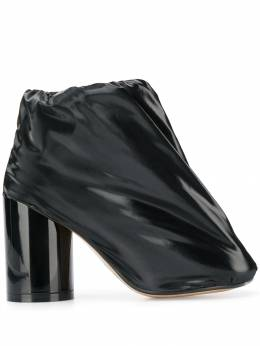 Mm6 Maison Margiela - covered patent-leather boots WU6666P3605955990880
