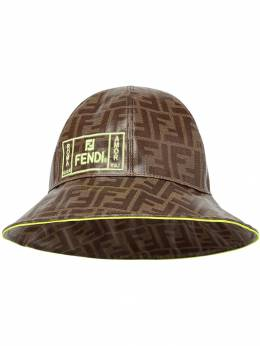Fendi Kids - FF logo bucket hat 669A0LV9550069900000