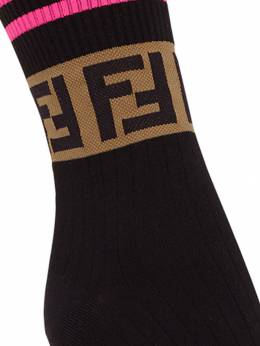 Fendi - FF logo socks 553A3OZ9550659000000