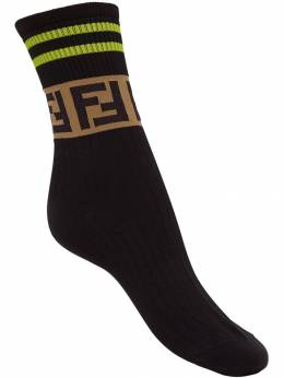 Fendi - FF logo socks 553A3OZ9550659600000