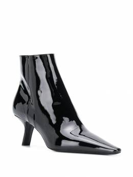 Prada - glossy effect ankle boots 99LF6656699556963900