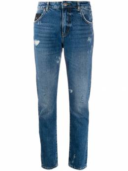 John Richmond - distressed straight leg jeans 99558JE9559559900000