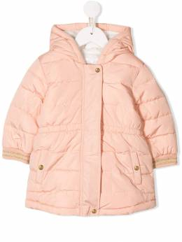 Chloé Kids - hooded padded coat 69853C95506633000000