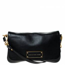 Marc By Marc Jacobs Black Leather Percy Crossbody Bag 226644