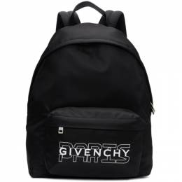 Givenchy Black New Givenchy Paris Backpack 192278M16601301GB